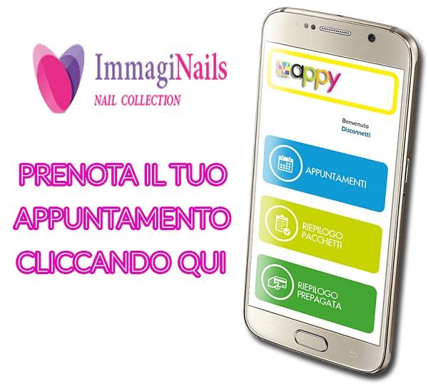 Prenotazione online appuntamento Immaginails Chioggia