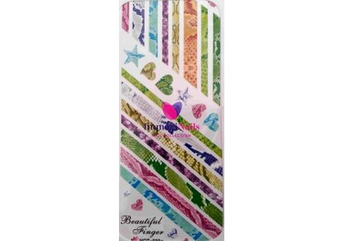 Nail Art Slider Design 6 Immaginails