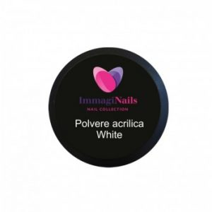 Polvere Acrilica White 30 gr Immaginails
