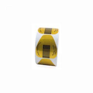 cartine nail form unghie 500 pezzi oro immaginails